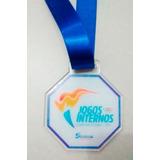 30 Medalhas Personalizada Resinada Em Acrílico 3mm