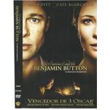 Dvd O Curioso Caso Benjamin Button Original-perf Estado