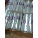 Bolsitas Plástico Ideal Juguitos 6 X 25 Cm 1000 Unidades