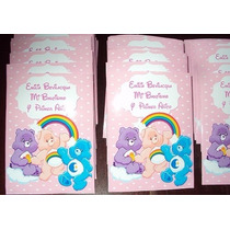 Ositos Cariñositos Tarjetas Cumpleaños Invitacion Pack X 10