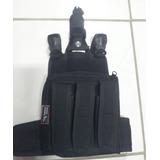 Bornal De Perna Tático Com Faca Militar - Police Brasil