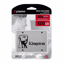 Hd Ssd 120 Gb Sata 3 Kingston Uv400 - 550 Mb/s 10x + Rápido