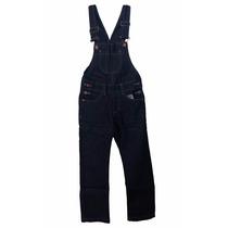 Macacão Jardineira Jeans Infantil Menino #1650/5000