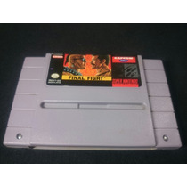 Cartucho Super Nintendo - Final Fight Original Americano