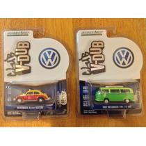 2 Greenlight Club Vdub Volkswagen Vw Vocho Y Combi Serie 4