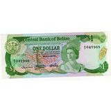 Billete De Belice 1 Dolar Año 1983 Sin Circular
