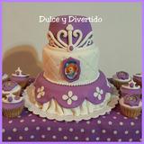 Princesa Sofia Torta Personalizada X Kilo