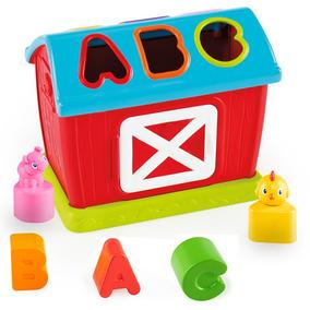 Brinquedo Educativo Bebe Fazendinha Encaixe Divertido