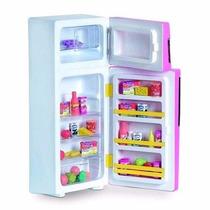 Geladeira Duplex Cristal Infantil Brinquedo Reborn Ninos