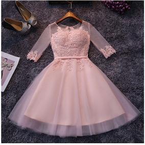 Vestido Rosa/15 Anos/debutante/casamento/trash The Dress