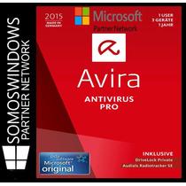 Avira Antivirus Pro 2015 1 Año X 3 Pc Licencia Original