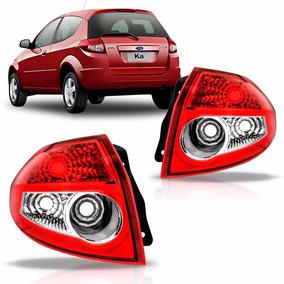 Par De Lanterna Ford Ka 2008 2009 2010 2011 2012 Bicolor