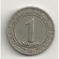 1 Dinar - Argélia - 1974 - Km# 112 - 20 Anos Revolução