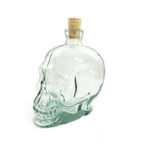 Garrafa De Caveira - Cranios Ossos Vasos Cristal Vidro
