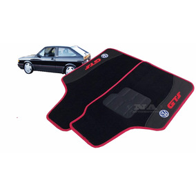 Tapete Automotivo Carpete Preto Volkswagen Gol Gts 5pçs
