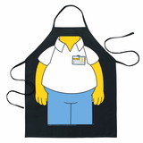 Delantal Homero Simpson Producto Oficial Mandil Envio Gratis