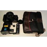 Maquina Fotográfica Analógica Antiga Fulaica Com Bolsa