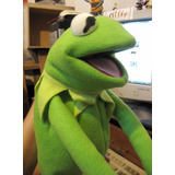 Peluche Kermit, Rana Rene, Sapo, Muppet, Pepe, Henson, Pepe