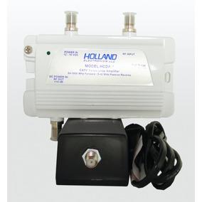 Amplificador Catv Holland 15db Reales Cable+internet El Mejo
