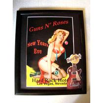 Guns & Roses Hard Rock Cafe Las Vegas 2001 Poster