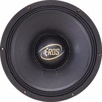 Alto Falante Eros E612 Full Black 8 Ohms 1.200w 600rms
