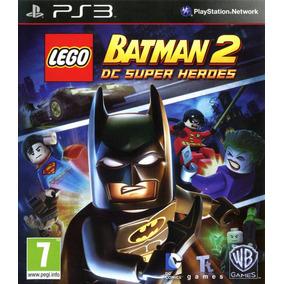 Lego Batman 2 Dc Heroes - Português Ou Inglês - Ps3 - Psn
