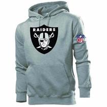 Blusa Moleton Oakland Raiders - Casaco De Frio Nfl