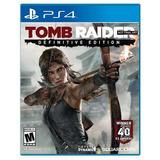 Tomb Raider Definitive Edition Para Ps4 Nuevo Y Original
