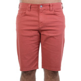 Bermuda Masculina Billabong Walk Red Pocket Vermelho