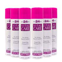 Vital Care Kit Atacado Promocao 6 Spray Fixador 24 Hours