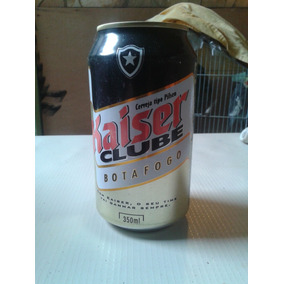 Lata Cerveja Kaiser Botafogo
