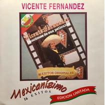 Cd Vicente Fernandez 16 Exitos Canciones De Sus Peliculas