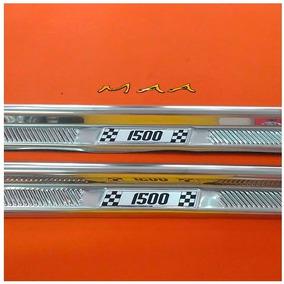 Soleira Estribo De Porta Em Aluminio Para Fusca 1500 Todos