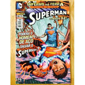 Dc Comics Os Novos 52! Superman Nº 15 Poderá O Homem De Aço