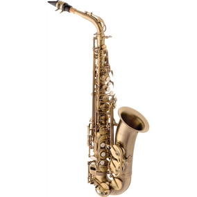 Saxofone Alto Eagle Com Estojo - Sa500vg (envelhecido)