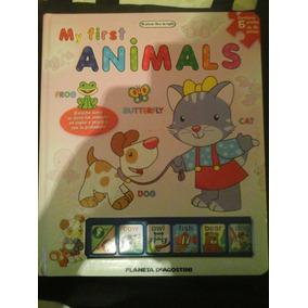 My First Animal Libro Infantil En Ingles