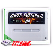 Snes Flash Cart Super Everdrive V2 + Dsp + Sdhc 8gb +brindes