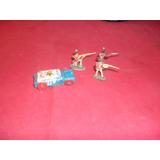 Lote Juguetes Antiguos E Miniaturas Soldados Coche De Chapa