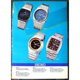 Seiko Y Omega Años 9 Catalogos 70 Cronografos Rejojes Finos