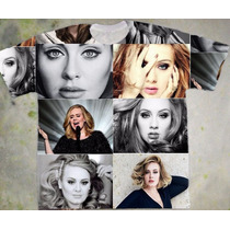 Camiseta Adele Estampada Exclusiva