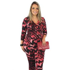 Conjunto Aloicia Laila Plus Size Roupa Para Gordinha