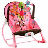 Cadeira De Balanço Infância Sonho Rosa 360715 Fisher Price