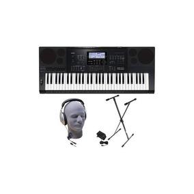 Casio - Teclado Con 61 Teclas De Piano-style - Negro