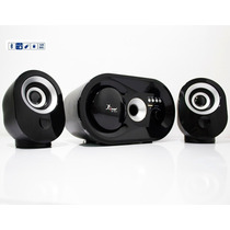 Kit Caixa De Som Subwoofer 16w Bluetooth E P2 Notebook Pc E+