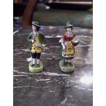 Muy Antiguas Miniaturas Checoeslovacas En Opalina Dec A Mano