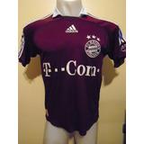 Camiseta Fútbol Bayern Munich Alemania 2006 2007 Podolski 11