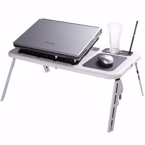 Mesa Notebook E-table Note C/ 2 Coolers 5 Níveis De Altura