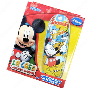 Disney Mickey Mouse Involcable Tenpempie Puching Ball 90 Cm