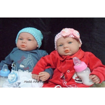 Bebê Reborn Lindos Gêmeos Realistas Promoção Mercado Livre
