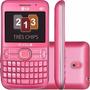Celular Lg C398 Três Chip Fm,mp3, Bluetooth, Novo+nf